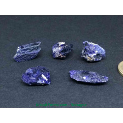 Azurite-cristal AAA - Pierre brute Extra