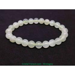 Jade de Chine Extra - Bracelet Boules 8 mm