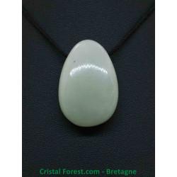 Jade de Chine - Pendentif Pierre Percée