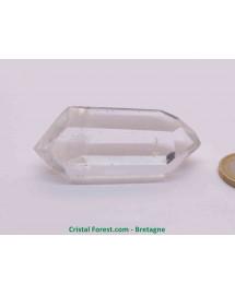 Cristal de roche - Pointes Brutes Bi-terminées