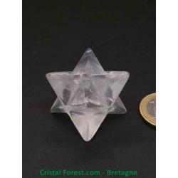Cristal de roche - Merkabah grands modèles