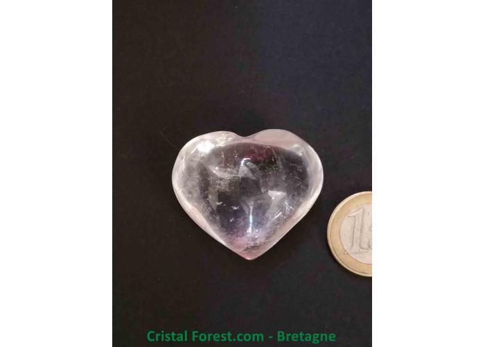 Coeur - Cristal de roche