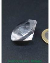 Cristal de Roche - Taillé Diamant