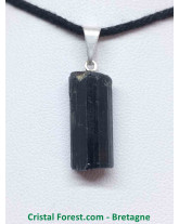 Tourmaline noire - Pendentif Pierre Brute
