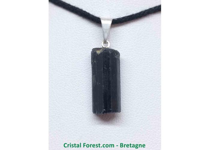 Tourmaline noire - Pendentif Pierre Brute - 1.7 à 2.5cm