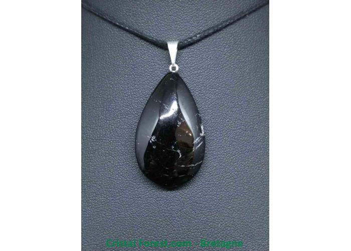 Tourmaline noire - Pendentif Goutte - 2.8 à 3.7 cm