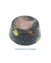 Orgonite shungite/quartz rose