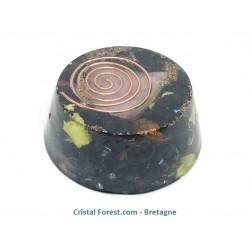 Orgonites TB Shungite/quartz rose (anti-ondes électromagnétiques & Purificateur d'énergie)