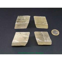 Calcite Miel - Bloc Brut