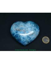 Apatite Bleue - Coeur