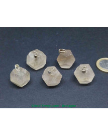 Quartz Rutile - Pendentif Dodécaèdre