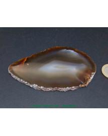 Agate naturelle - Plaque Polie