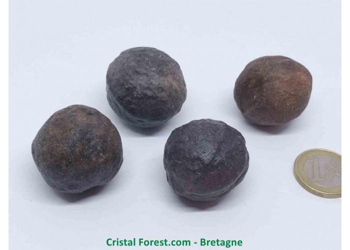Moquis balls - Polarité positive (Masculins) - 2.8 à 3.5cm / env 30gr