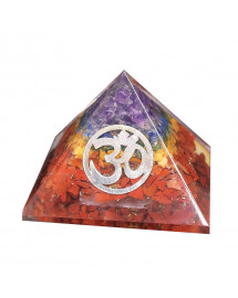 Orgonite et 7 Chakras - Pyramide