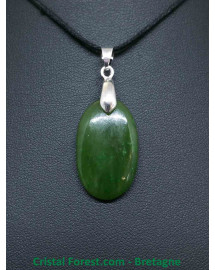 Jade Nephrite du Canada - Pendentif Bélière