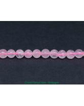 Quartz Rose - Fil de Perles