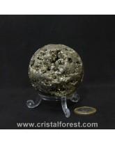 Sphère Pyrite de fer 6cm