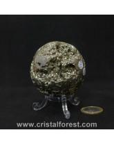 Sphère Pyrite de fer 5,5cm