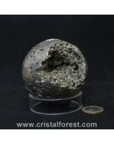 Sphère Pyrite de fer 7cm