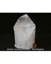 Pointe brute Cristal de roche - 14 cm
