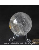 Sphère Cristal de roche - 5,8cm
