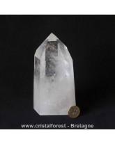 Quartz générateur - Cristal de roche 15 cm - 0,96 kg