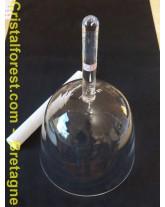 """Bol de cristal """"clair"""" 20 cm - LA dièse 114,3 Hz"""