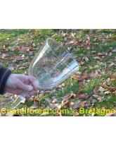 "Bol de cristal ""clair"" 15 cm - ""Mi"" 165,7 Hz"