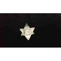 Merkabah Cristal de roche - 2,2 cm