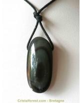 Pendentif d'obsidienne Oeil céleste- 4cm