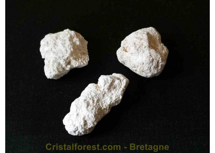 Magnésite - Pierre brute  - 1.8 à 3cm / Env. 2 à 14gr