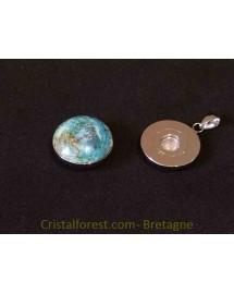 Bijoux interchangeable avec clips - Chrysocolle