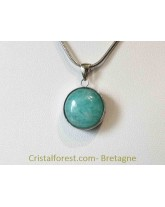 Bijoux interchangeable avec clips - Amazonite