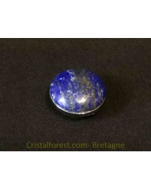 Cabochon Lapis Lazuli clipsable