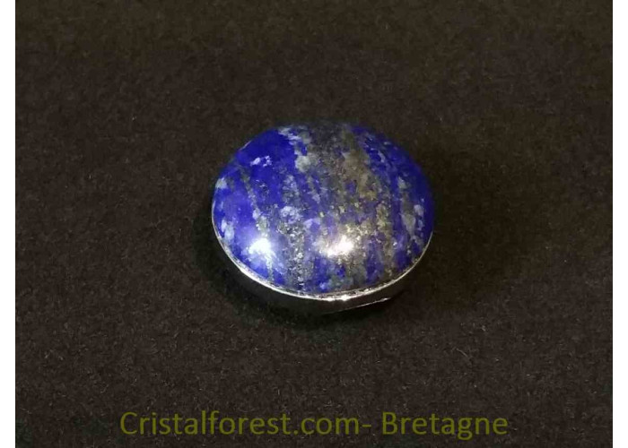 cabochon lapis lazuli clipsable pour bijoux interchangeables. Black Bedroom Furniture Sets. Home Design Ideas