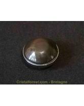 Cabochon -Obsidienne oeil céleste clipsable pour bijoux interchangeables