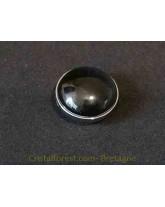 Cabochon - Tourmaline noire - clipsable