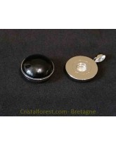 Bijoux interchangeable avec clips - Tourmaline noire