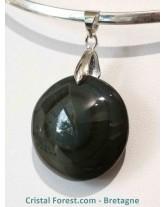 Pendentif d'obsidienne Oeil céleste