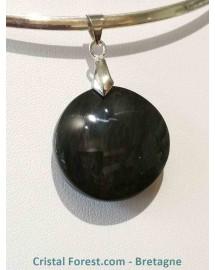 Pendentif d'obsidienne Mentogochol