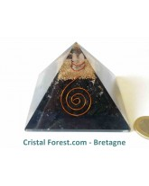 Pyramide d'Orgonite et shungite