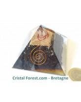 Pyramide d'Orgonite et shungite
