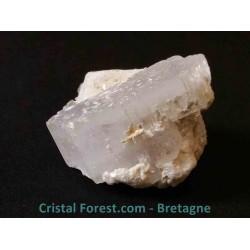 Morganite & Aigue-marine brute cristallisée - R3190