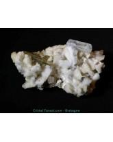 Amas Aigue-marine sur albite et microline - R3202