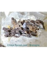 "Sidérite sur gangue de quartz ""hashopi"" - 453 gr"