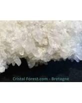 Herdérite sur gangue d'Albite blanc - 324 gr