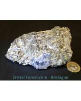 Saphir sur gangue de mica noir - 386 gr
