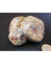 Grenat brut glossulaire almandin - 613 gr