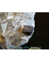 "Sidérite sur gangue de quartz ""hashopi"" - 349 gr"