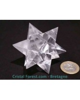 Etoile de Sirius en Cristal de roche